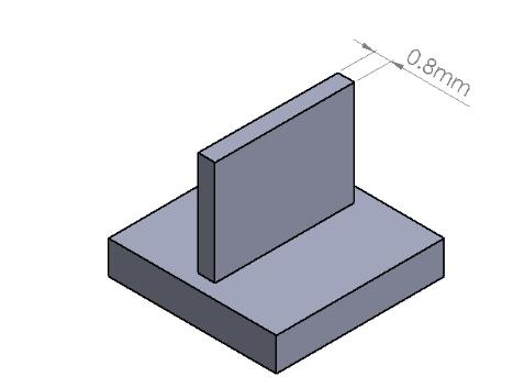 Minium Feature Size Illustration