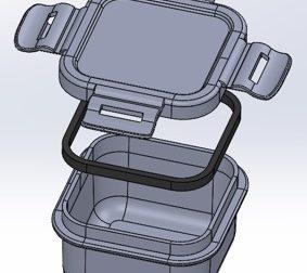 Virtual Food Storage Sample