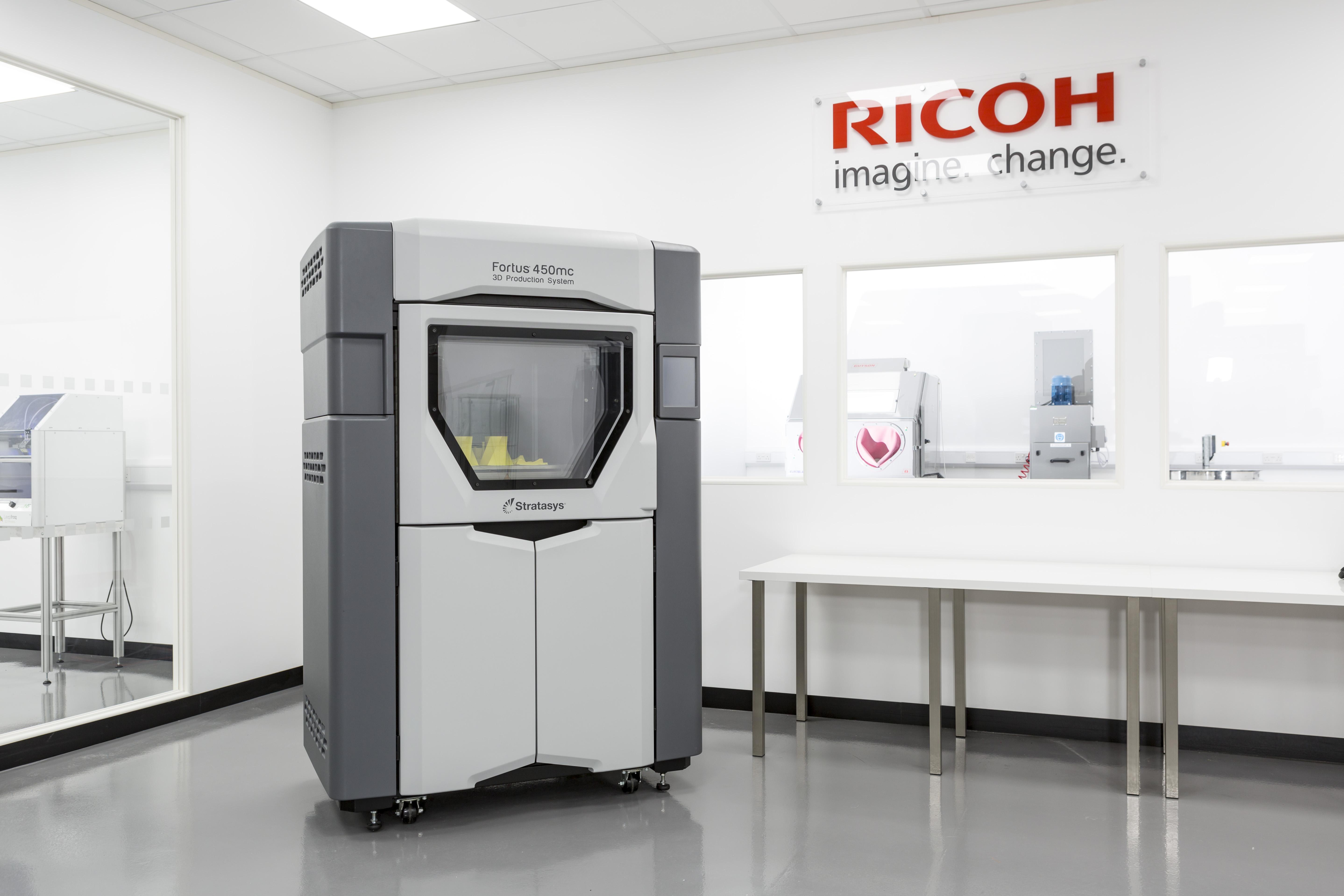 Ricoh 3D technology