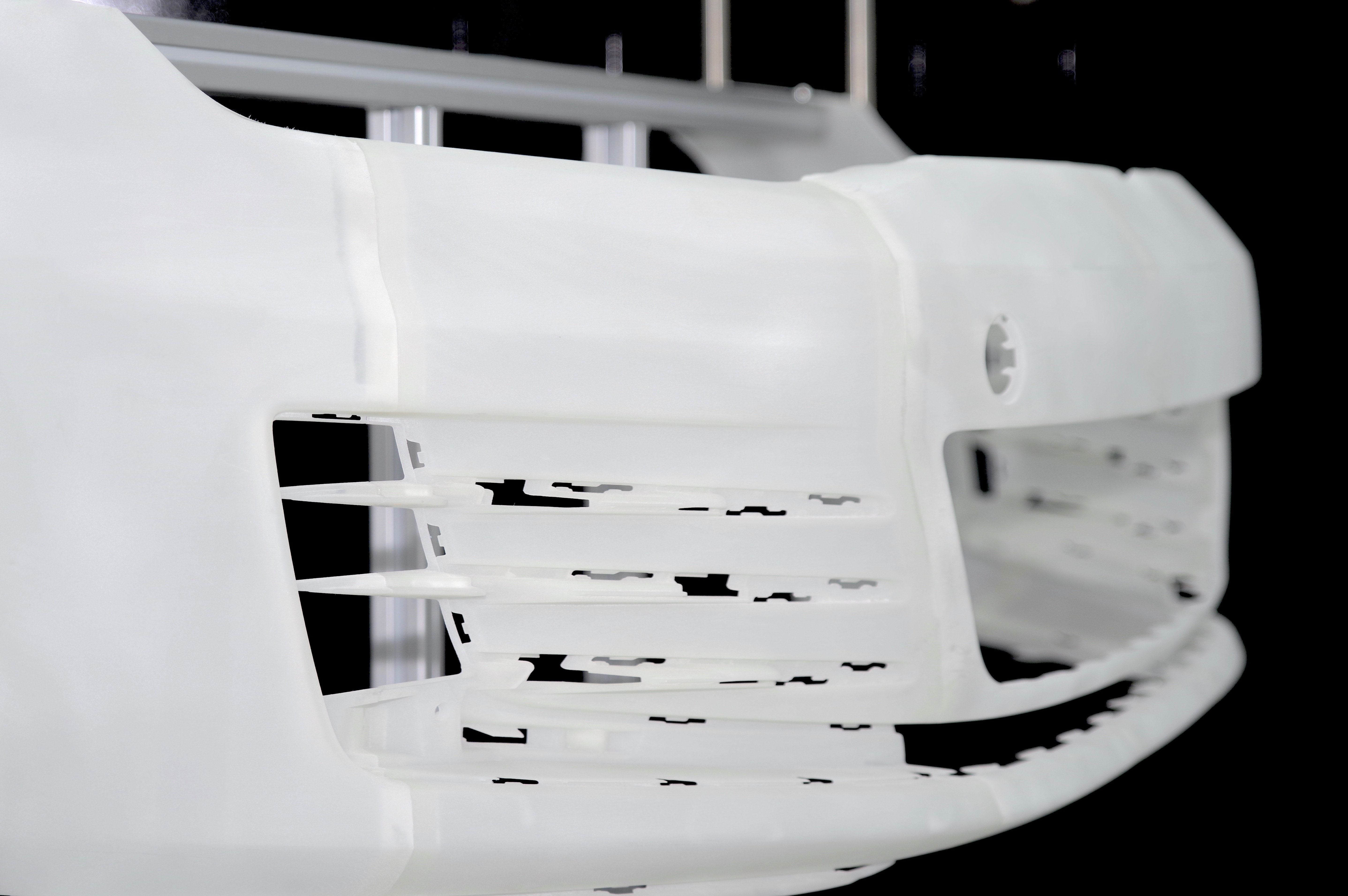 Pare-chocs de voiture VW pleine échelle