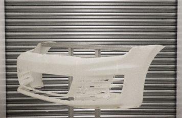 Full-scale VW car bumper